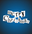 Merry Christmas - vector image vector image