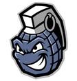 grenade mascot vector image
