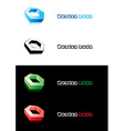 design element nut vector image vector image
