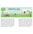 Cow Farm vector image