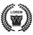 logo drawing vector image