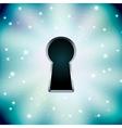key hole vector image