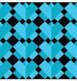 Geometric 3 d effect pattern vector image