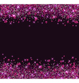 Glitter star background vector image vector image