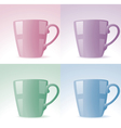 cups vector image vector image