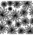flowers background icon image vector image