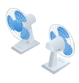 Isometric Fan Home climate equipment isometric vector image