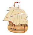 Old Sailing Ship vector image