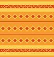 rhombus tribal ethnic wallpaper pattern design vector image