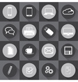Universal Outline Icons For Web and mobile in flat vector image