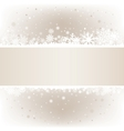 soft light snow mesh background with textarea vector image vector image