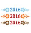 2016 Aloha vector image
