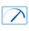 Indicator vector image