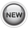 new button vector image vector image