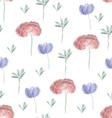 Flower Field vector image