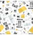 mess of colorfull icons house appliance seamless vector image