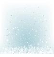soft light blue snow mesh background vector image