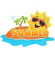 Summer Theme vector image