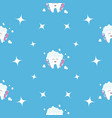 pattern seamless brush paste tooth health sparkle vector image