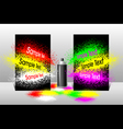 Effect spray paint vector image