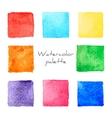 Watercolor palette vector image