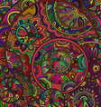 background pattern of the ornamental circles with vector image