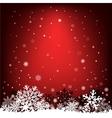 dark red snow mesh background vector image vector image