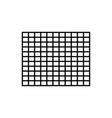 grid row icon vector image