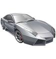 futuristic car vector image vector image
