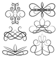 Set graphic elements for design vector image vector image