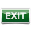 Danger exit sign solo vector image