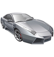 futuristic car vector image