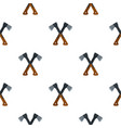 two axes pattern flat vector image