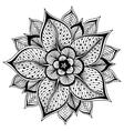 outline Mandala for vector image