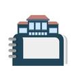real estate directory catalog symbol vector image