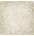Beautiful seamless vintage pattern vector image vector image