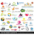 logo design elements vector image