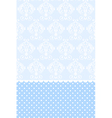 baby blue wallpaper vector image vector image