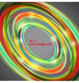 Abstract techno circle background vector image