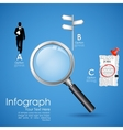 Job Search in Newspaper vector image