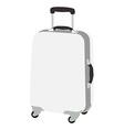 Luggage wheeled vector image