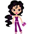 woman cartoon vector image vector image