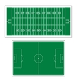 Field to play football vector image