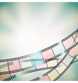 film background retro vector image