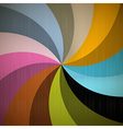 Retro Spiral Background vector image