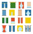 collection blinds vector image