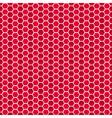 Seamless pattern of small hexagons vector image