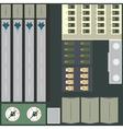 Military base vector image