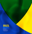 brazil colors 3 vector image vector image