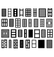 Clay and concrete bricks vector image